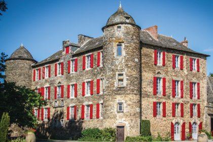 Château du Bosc dans l'Aveyron